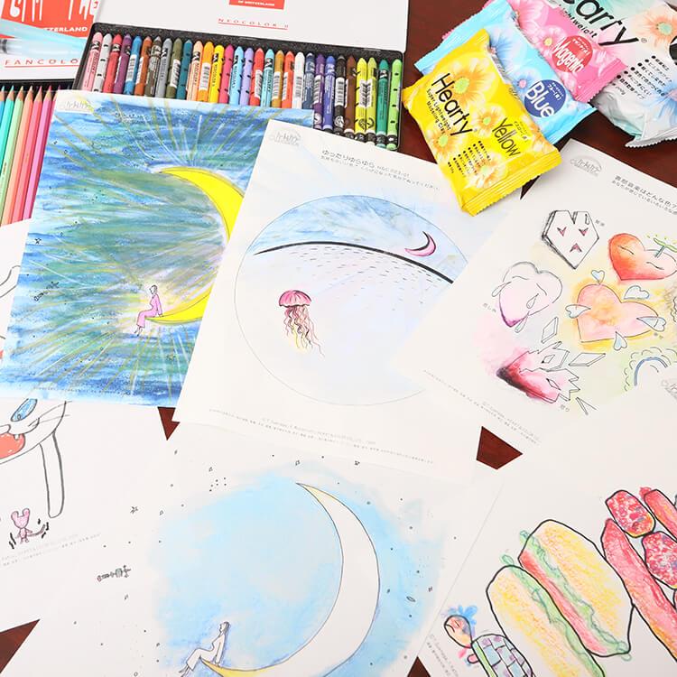 色彩アートセラピー